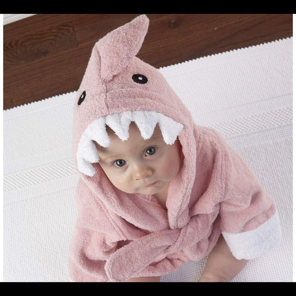 quality and quantity assured best selection of exclusive shoes Baby Shark Bath Robe
